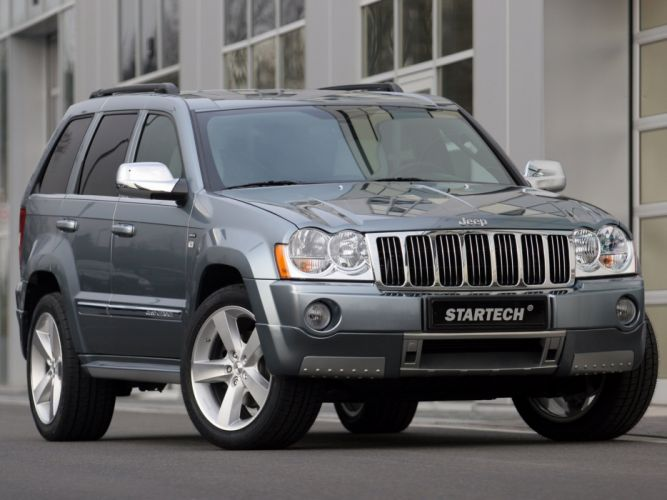 Startech Jeep Jeep Grand Cherokee suv cars modified 2005 wallpaper