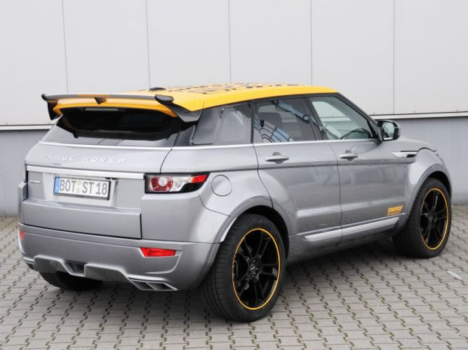 Startech Range Rover Evoque suv cars modified 2011 wallpaper
