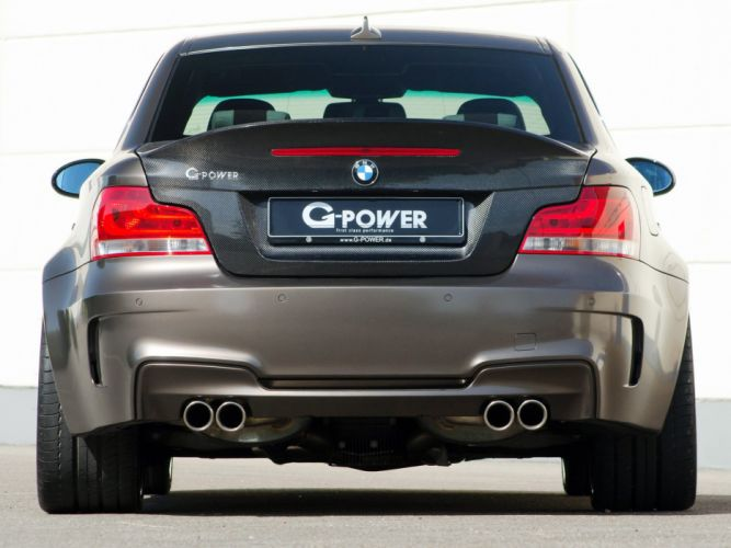 G-Power BMW 1-Series coupe cars modified 2012 wallpaper