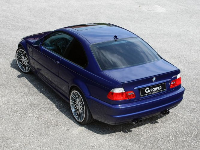 G-Power BMW-M3 Coupe (E46) cars modified 2012 wallpaper