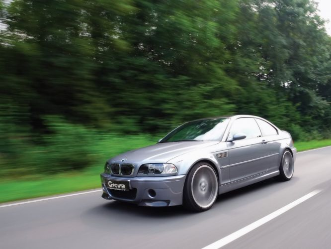 G-Power BMW-M3 Coupe CLS (E46) cars modified 2012 wallpaper