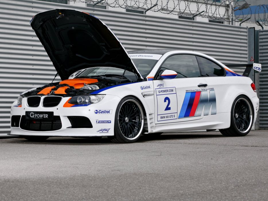 (E92) 2010 bmw-m3 cars Coupe G-Power GT2-S modified wallpaper