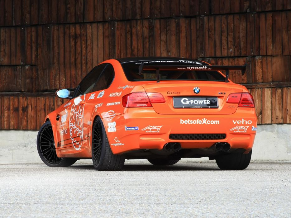 G-Power BMW-M3 SK-II (E92) cars modified 2013 wallpaper