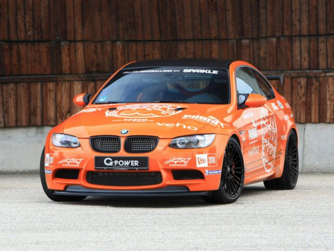 G-Power BMW-M3 SK-II (E92) cars modified 2013 wallpaper