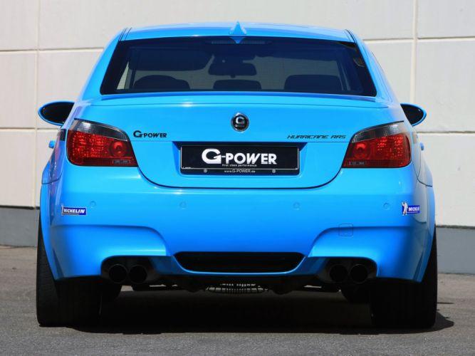 G-Power BMW-M5 Hurricane RRs (E60) cars modified 2012 wallpaper