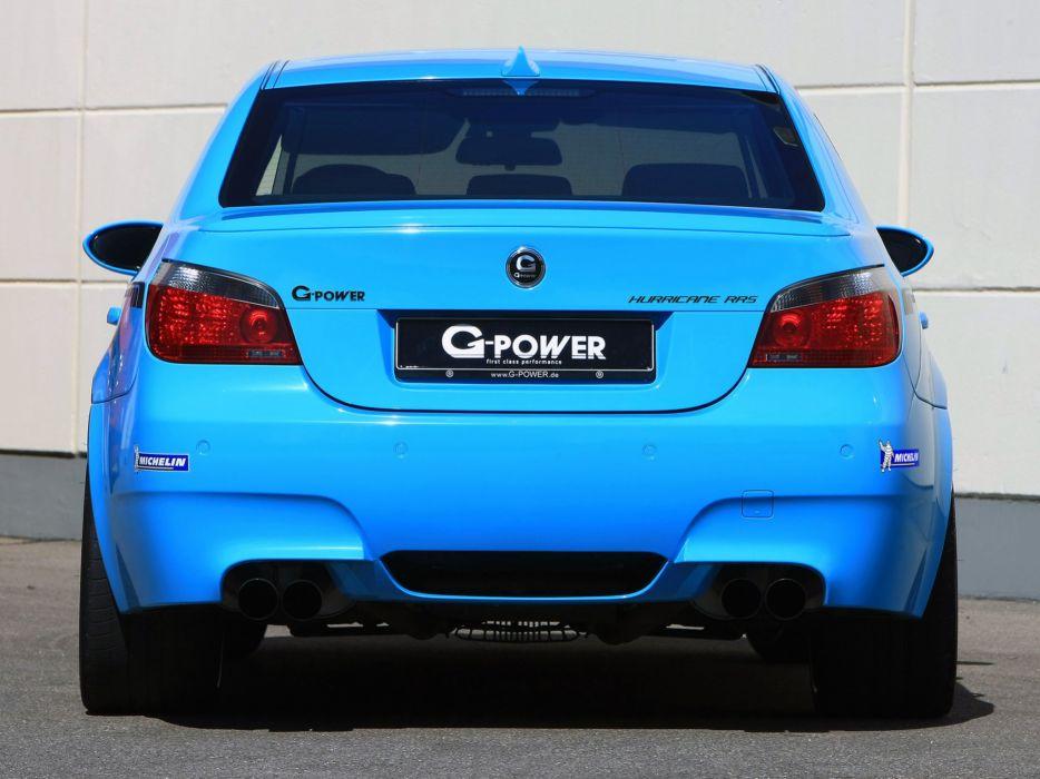 G Power Bmw M5 Hurricane Rrs E60 Cars Modified 2012 Wallpaper