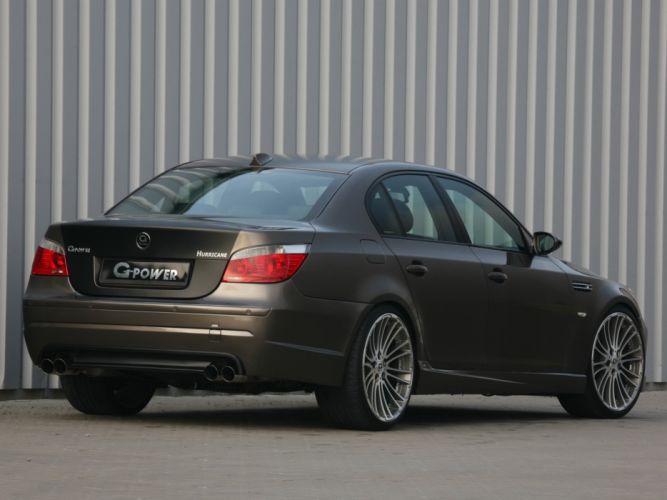 G-Power BMW-M5 Hurricane (E60) cars modified 2008 wallpaper