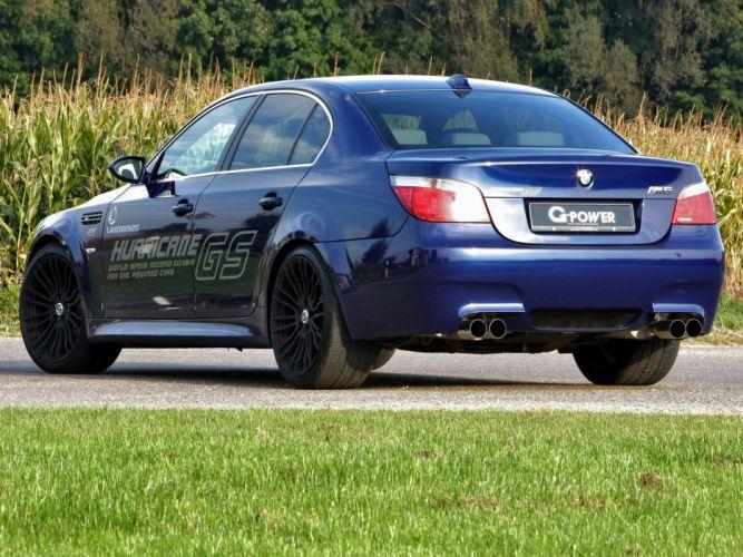 G-Power BMW-M5 Hurricane-gs (E60) cars modified 2010 wallpaper