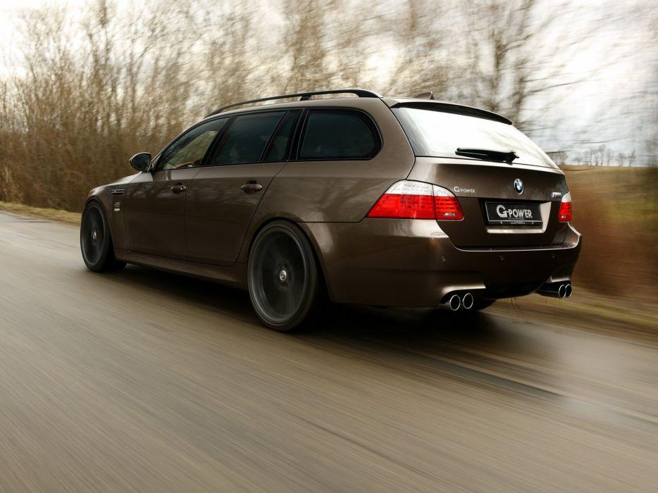 G-Power BMW-M5 Hurricane-RS Touring (E61) cars modified 2011 wallpaper