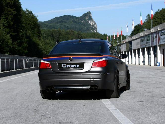 G-Power BMW-M5 Hurricane-Rr (E60) cars modified 2010 wallpaper