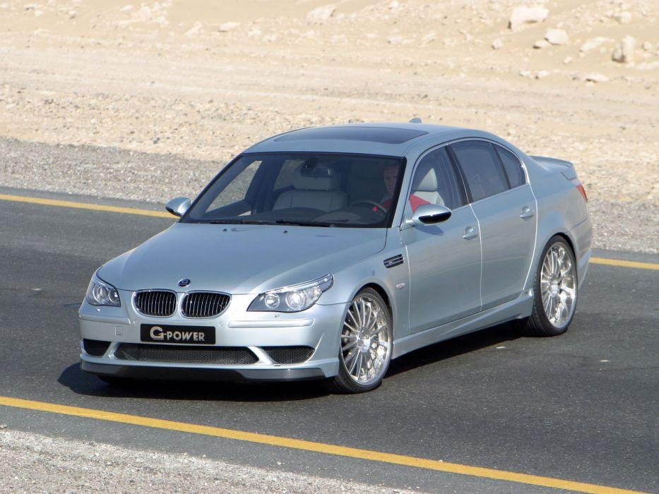G-Power BMW-M5 G5-5 0S (E60) cars modified 2006 wallpaper