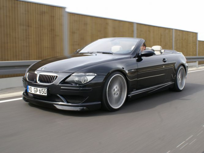 G-Power BMW-M6 Hurricane Cabriolet (E64) cars modified 2008 wallpaper