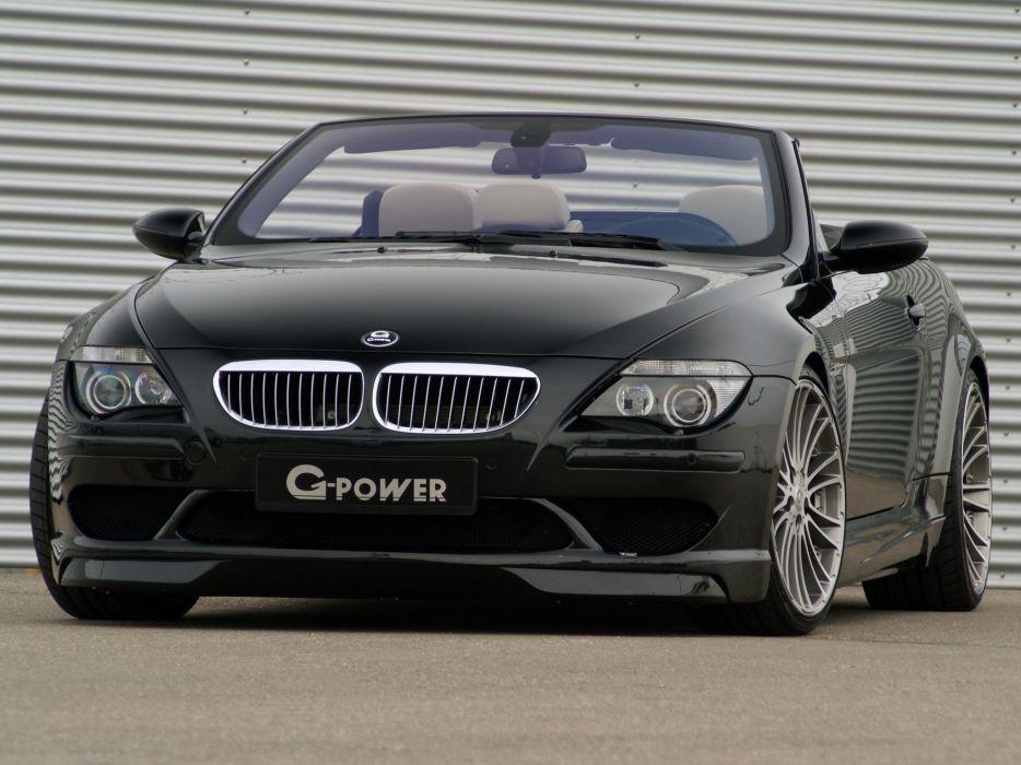 G-Power BMW-M6 Hurricane Cabriolet (E64) cars modified 2008 wallpaper