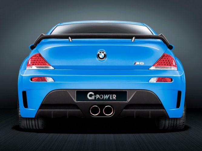 G-Power BMW-M6 Hurricane-CS (E63) cars modified 2009 wallpaper