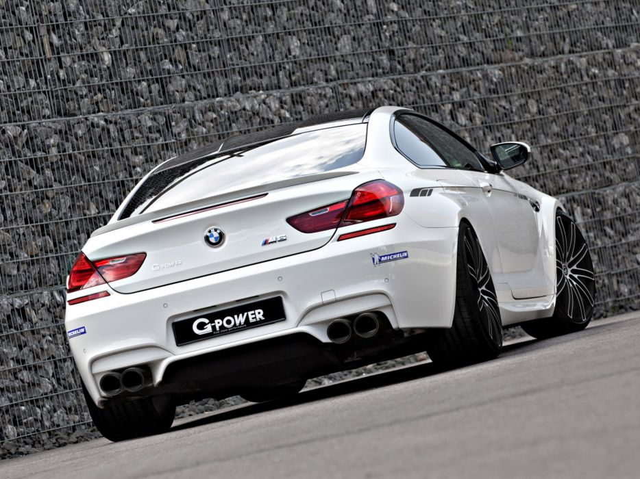 G-Power BMW-M6 coupe Hurricane (f13) cars modified 2013 wallpaper