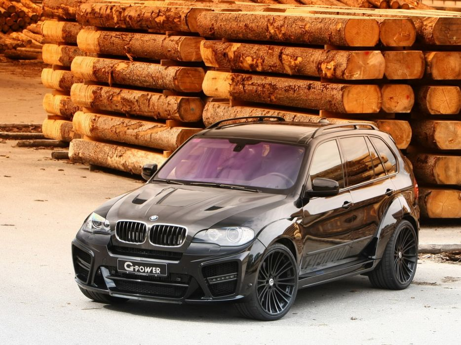 G-Power BMW-X5 Typhoon suv (e70) cars modified 2009 wallpaper