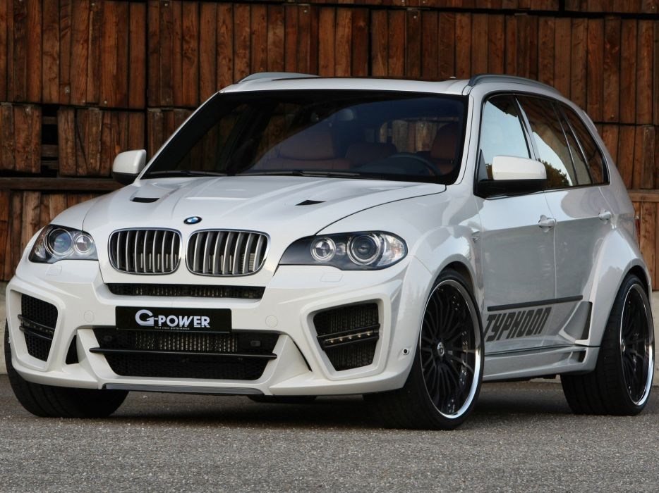G-Power BMW-X5 Typhoon-rs suv (e70) cars modified 2009 wallpaper