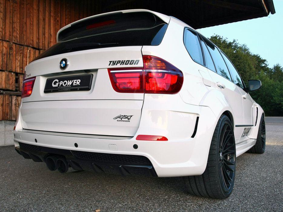 G-Power BMW-X5 Typhoon suv (e70) cars modified 2011 wallpaper