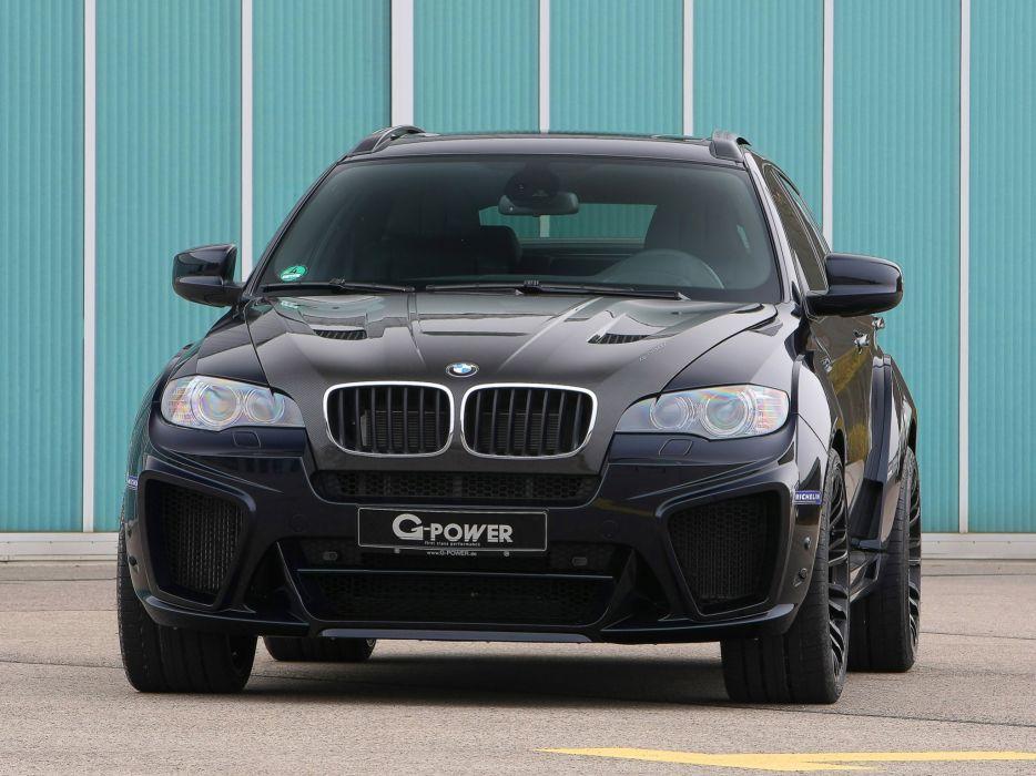 G-Power BMW-X6-m Typhoon suv (e71) cars modified 2010 wallpaper