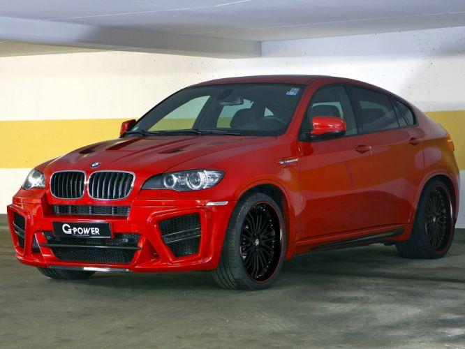 G-Power BMW-X6-m Typhoon-s suv (e71) cars modified 2011 wallpaper