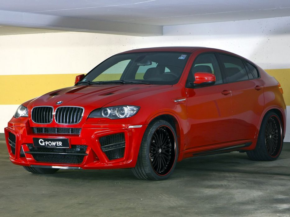 G Power Bmw X6 M Typhoon S Suv E71 Cars Modified 2011
