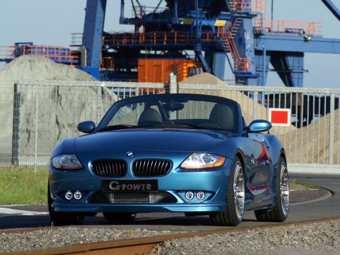 G-Power BMW-Z4 roadster G4-3-0i Evo-III (e85) cars modified 2008 wallpaper