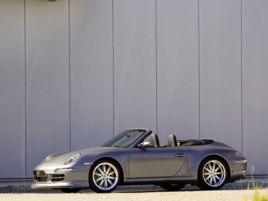 9ff Porsche 911 Carrera Cabriolet (997) modified cars 2007 wallpaper