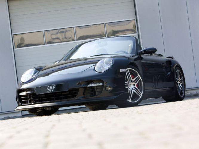 9ff Porsche 911 turbo Cabriolet (997) modified cars 2007 wallpaper