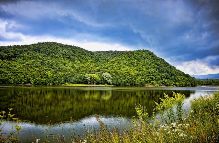 lago paisaje naturaleza wallpaper