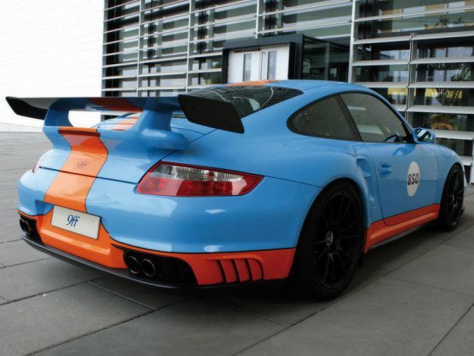 9ff Porsche 911 BT-2 COUPE (997) modified cars 2009 wallpaper