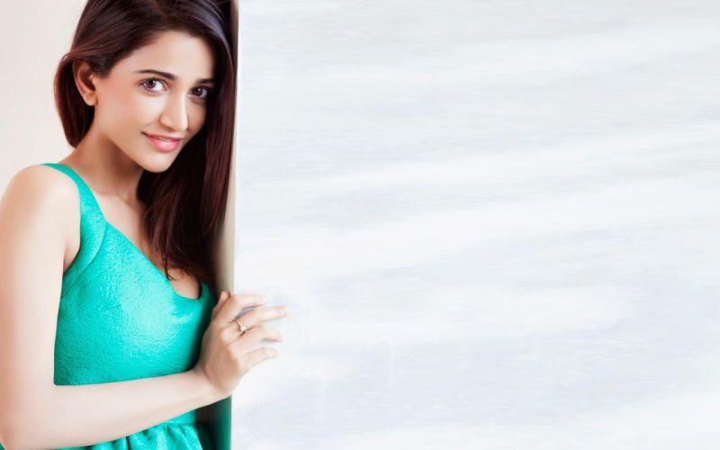 Anaika Soti Blue Dress Wallpaper wallpaper