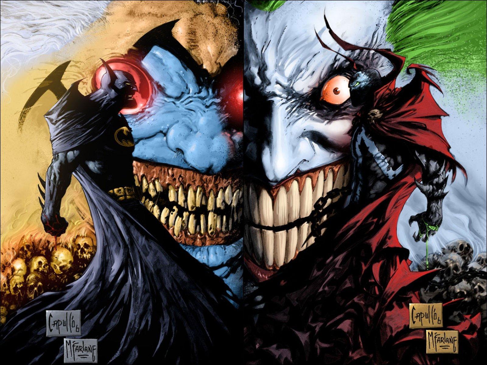 Бэтмен герои комиксов Джокер  № 3922504 загрузить