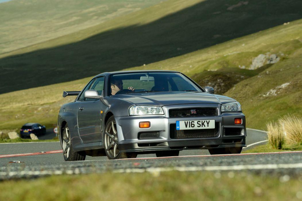 Nissan Skyline GT R V Spec (BNR34) Coupe Cars 1999 Wallpaper