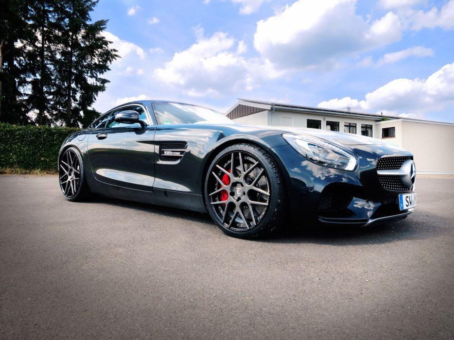 2015 Mercedes GTS LOMA WHEELS coupe cars wallpaper