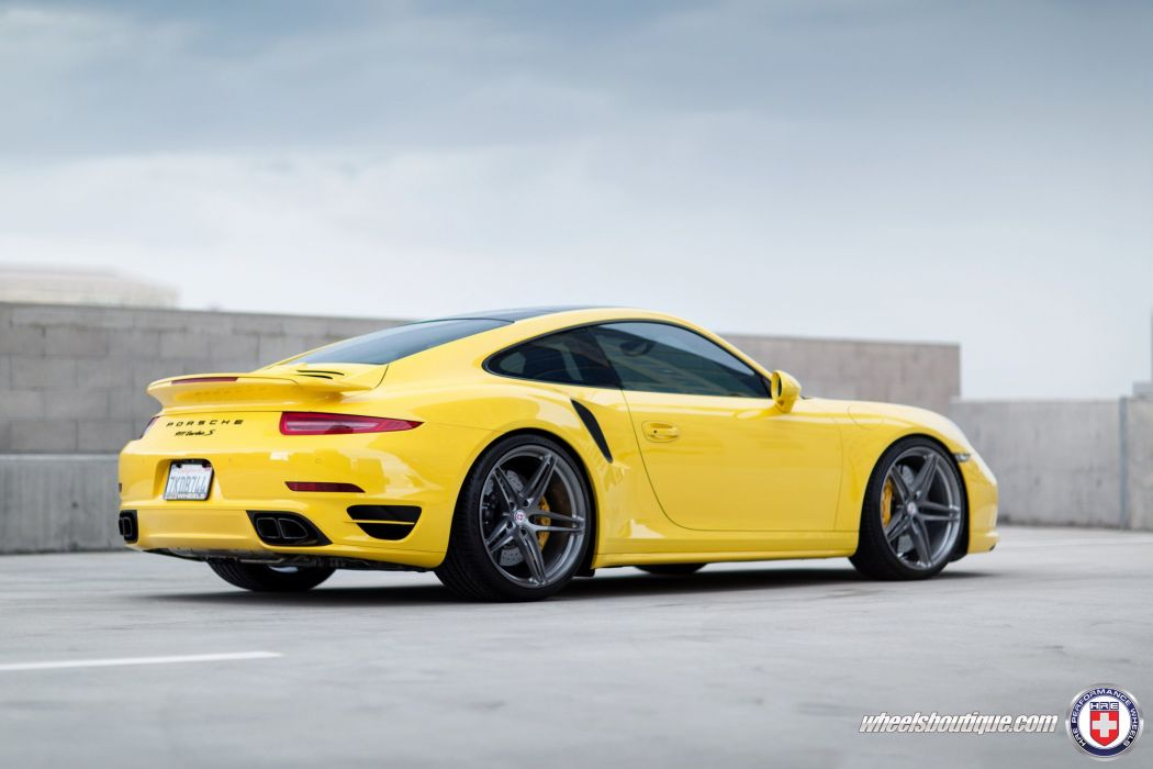 Porsche 991 Turbo-S HRE WHEELS coupe cars wallpaper