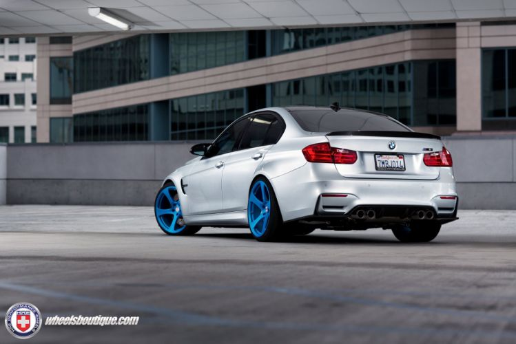 BMW-M3 F80 HRE WHEELS sedan cars wallpaper