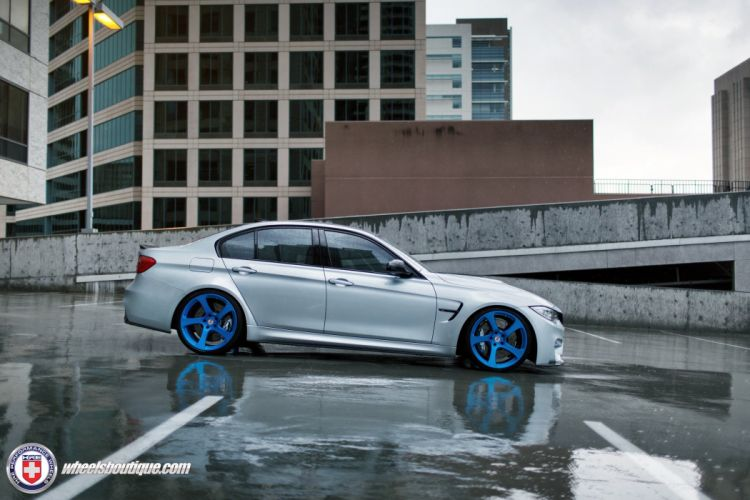 BMW-M3 F80 HRE WHEELS sedan cars wallpaper