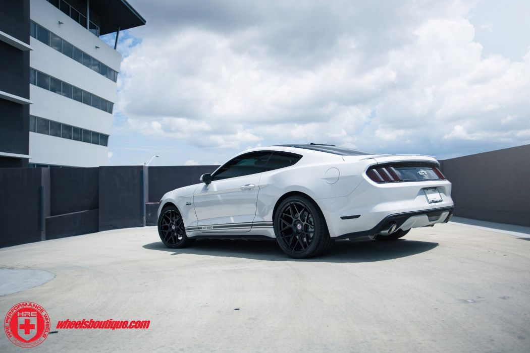 Ford Mustang-GT HRE WHEELS coupe cars wallpaper