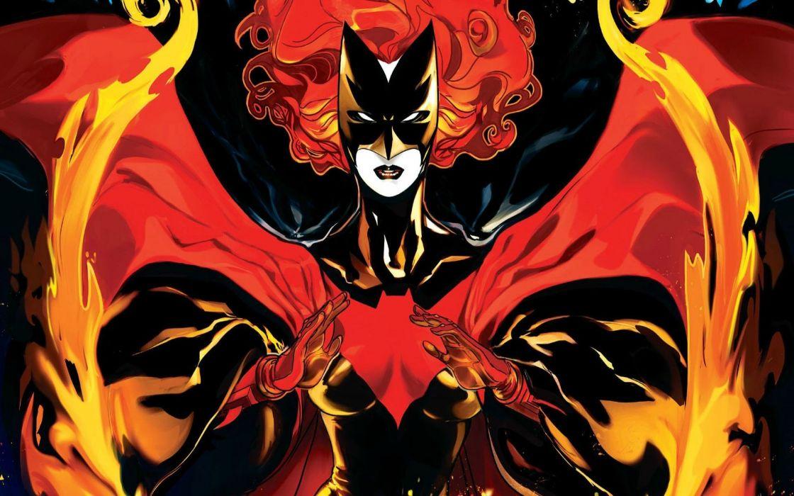 DC-COMICS superhero hero warrior d-c comics Batwoman (50) wallpaper