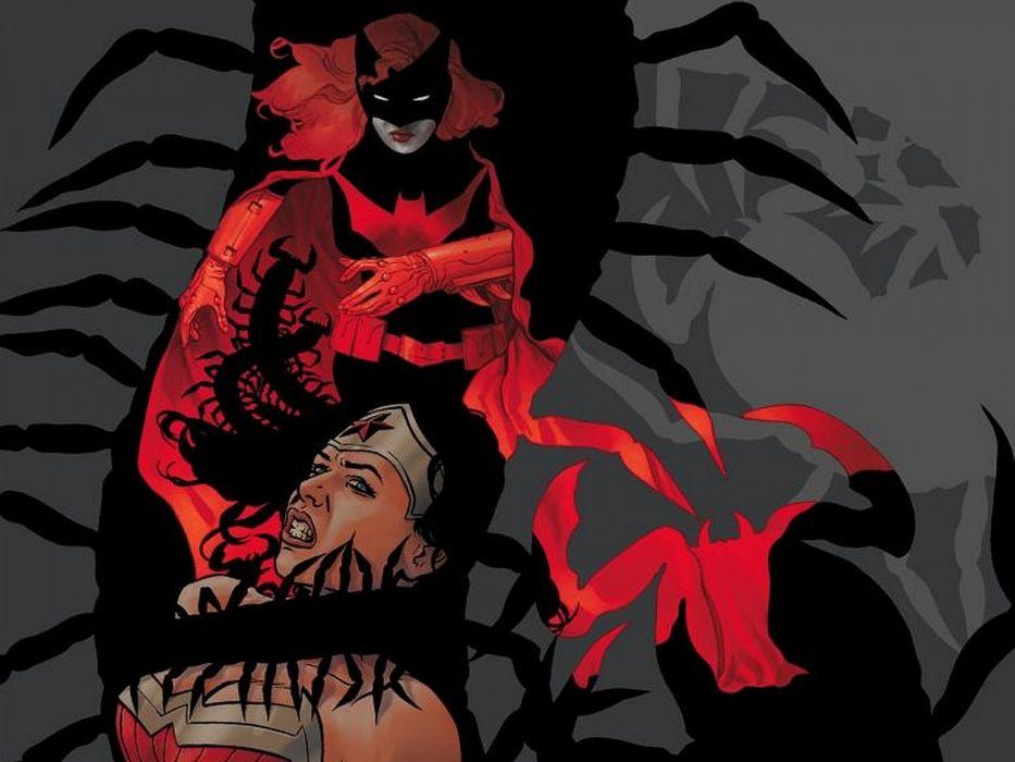 DC-COMICS superhero hero warrior d-c comics Batwoman (61) wallpaper