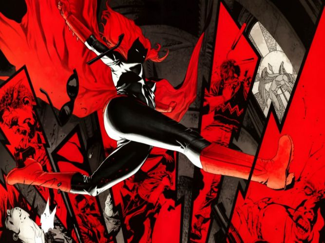 DC-COMICS superhero hero warrior d-c comics Batwoman (60) wallpaper