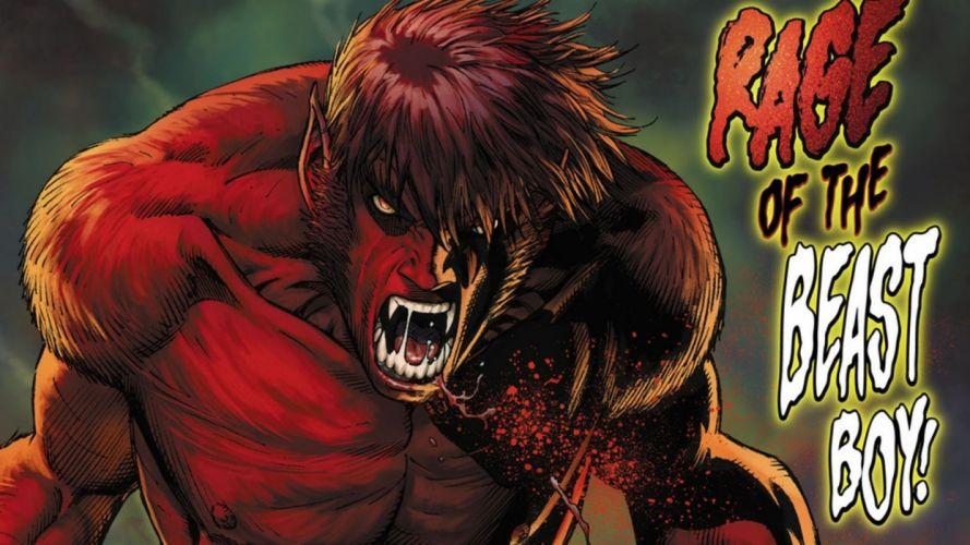 DC-COMICS superhero hero warrior d-c comics beast boy f wallpaper