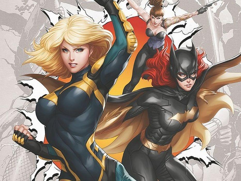 Birds Of Prey DC-COMICS superhero hero warrior d-c comics (4) wallpaper