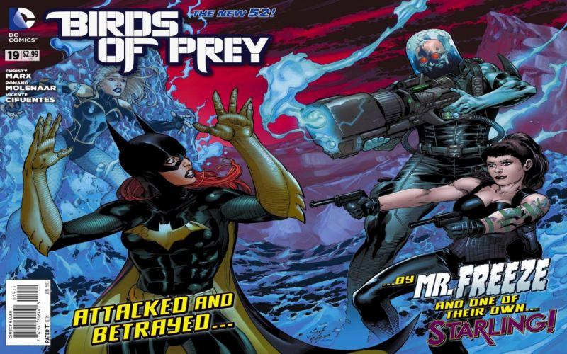 Birds Of Prey DC-COMICS superhero hero warrior d-c comics (5) wallpaper