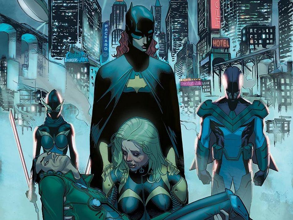 Birds Of Prey DC-COMICS superhero hero warrior d-c comics (10) wallpaper