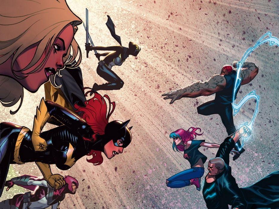 Birds Of Prey DC-COMICS superhero hero warrior d-c comics (9) wallpaper