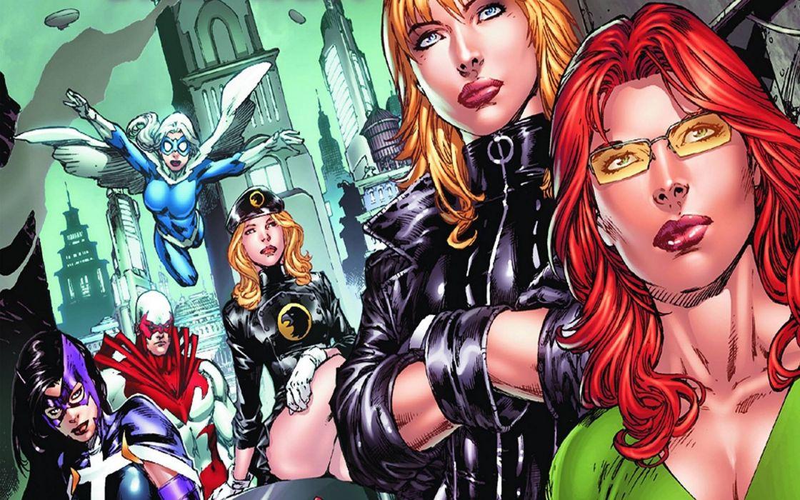 Birds Of Prey DC-COMICS superhero hero warrior d-c comics (25) wallpaper