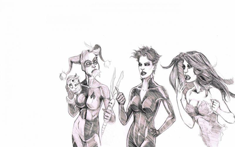Birds Of Prey DC-COMICS superhero hero warrior d-c comics (23) wallpaper