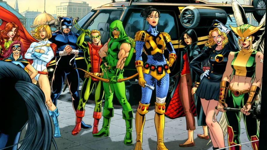 Birds Of Prey DC-COMICS superhero hero warrior d-c comics (28) wallpaper