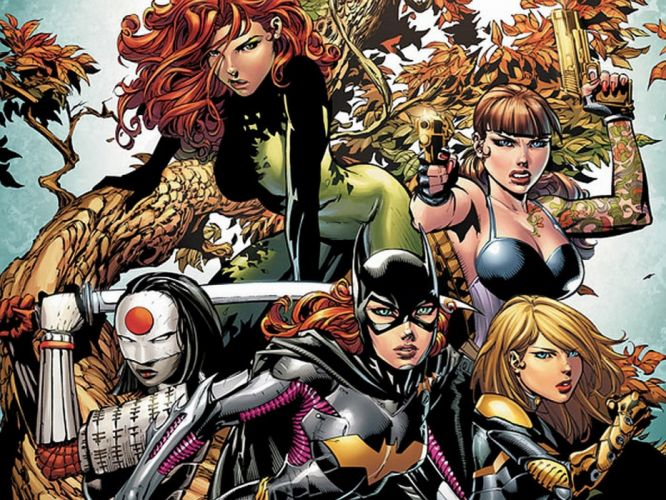 Birds Of Prey DC-COMICS superhero hero warrior d-c comics (34) wallpaper